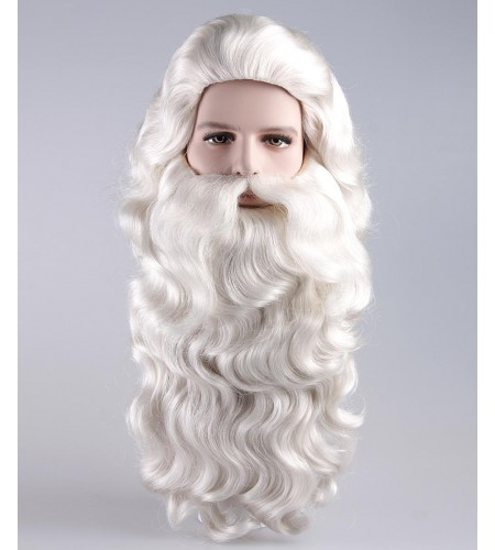 Santa Claus Adult Wig and Beard Set HX-007
