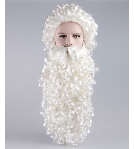 Super Long Santa Claus Wig and Beard Set HX-009