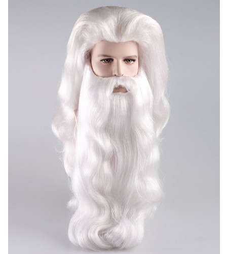 Super Santa Claus Wig and Beard Set HX-017