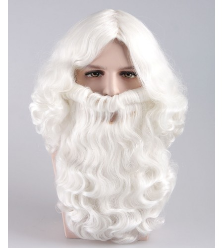 Santa Claus Wig and Beard Set HX-016