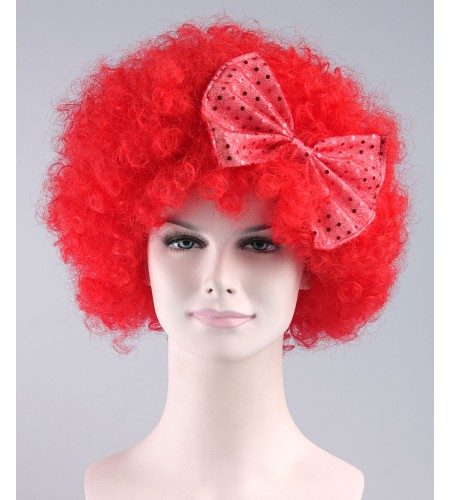 Red Butterfly Wig