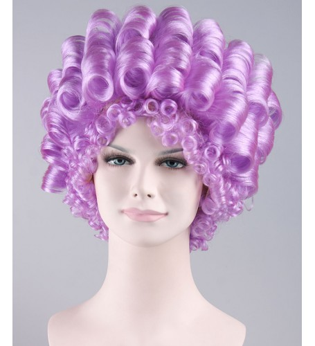 Anime Purple Curls Wig
