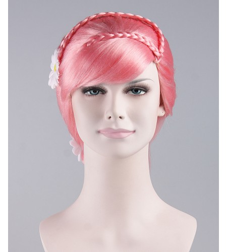 Pretty Pink Ponytail Wig