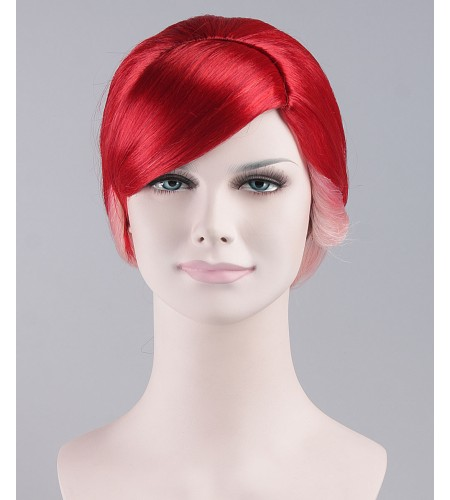 Pretty Red Ponytail Wig