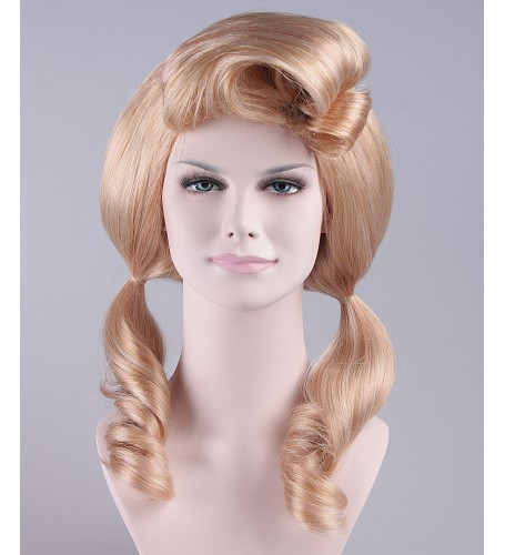 Baby Spice Pony Tails Blonde Wig