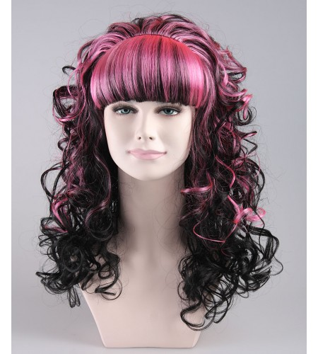 Monster High Pinky Noir Wig