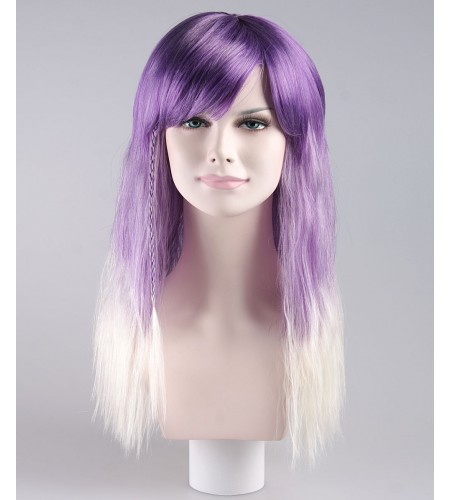 Va Va Voom Wavy Purple Adult Wig